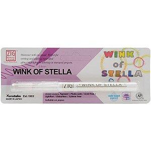 Caneta  glitter Clear (transparente) Wink of Stella - Zig