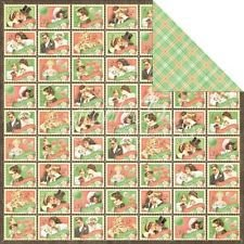 Papel para scrapbook - 30x30 - Time to Celebrate - Best Wishes - Graphic 45