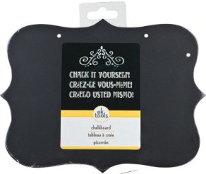 Placa MDF Chalkboard para escrita a giz - Ek Success