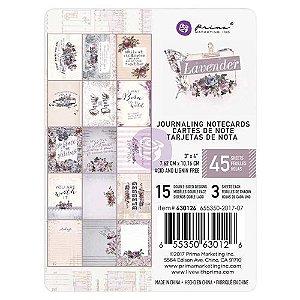 Bloco de cards 7,5x10 - Lavender - Prima
