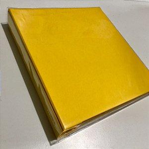 Álbum médio de scrapbook liso para 200 fotos 10x15 Amarelo - Paperchase