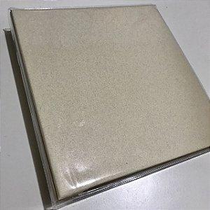 Álbum médio de scrapbook liso para 200 fotos 10x15 Bege - Paperchase
