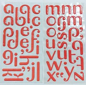 Alfabeto emborrachado Rosa Póa - American Crafts