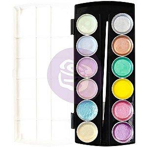 Kit de aquarelas com 36 cores - Pre By Nicole