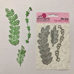 Kit de facas folhas e galhos 3 peças - Art e Montagem