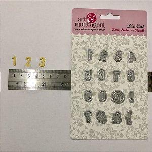 Kit de facas de Números 16 peças FAC097 - Art e Montagem
