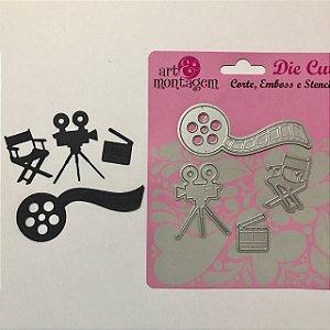 Kit de facas Cinema 4 peças FAC011 - Art e Montagem