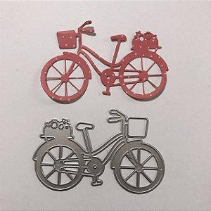 Faca de corte Bicicleta com cestinha FAC055 - Art e Montagem