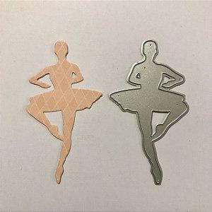 Faca de corte Bailarina 2 FAC039 - Art e Montagem