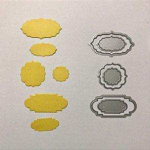 Kit de facas de corte 6 peças FAC089 - Art e Montagem