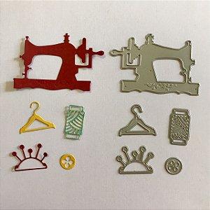 Kit de facas 5 peças Costura FAC048-B - Art e Montagem