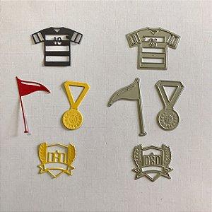 Kit de facas 4 peças Esporte FAC045-B - Art e Montagem