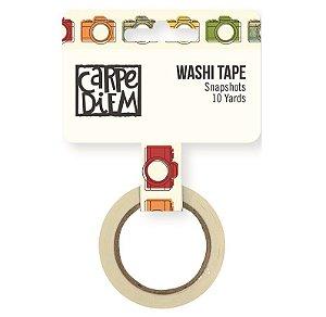 Washi tape Câmera Snapshot - Viagem - Travel Notes - Simple Stories
