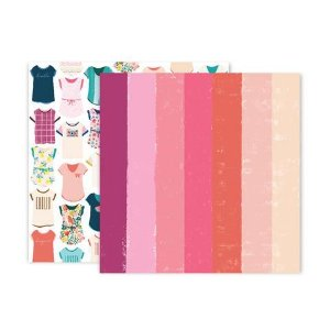 Papel scrapbook 30x30 24 Pick me up - Paige Evans -  Pink Paislee