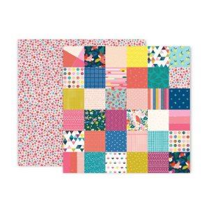 Papel scrapbook 30x30 10 Pick me up - Paige Evans -  Pink Paislee