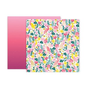 Papel scrapbook 30x30 23 Pick me up - Paige Evans -  Pink Paislee