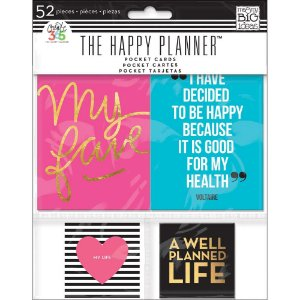 Kit de cards The Happy Planner - MAMBI - Create 365
