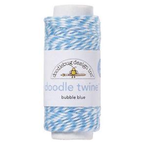 Twine Azul Claro BUbble Blue - Doodlebug