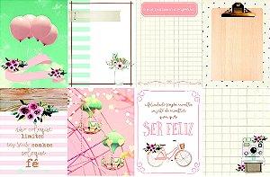 Kit de cards - Linha Felicidade -Dany Peres