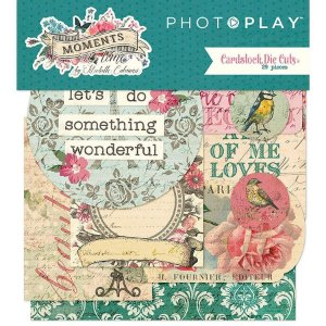 Die cuts Moments in time, Photoplay com 29 peças
