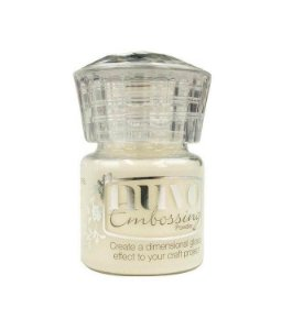 Pó para emboss Crystal Clear Transparente 22ml Nuvo