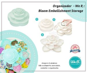 Organizador Bloom MENTA com 16 compartimentos  We R