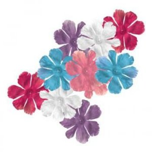Flores de tecido Fancy Blossoms Flirty - Imaginisce