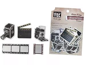 Recortes Cinema chipboard com 24 peças TEC