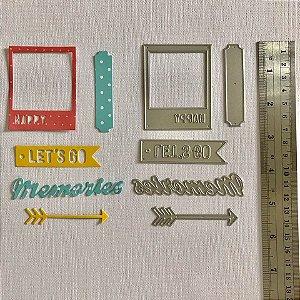 Kit de facas 5 peças FAC040 - A