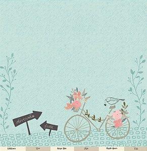 Papel para scrapbook - 30x30 Coleção Felizes para sempre - Celebre o amor - Casamento -  Juju Scrapbook