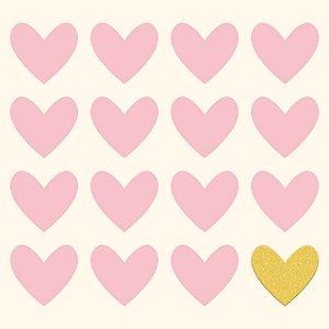 Papel scrapbook 30x30 Penelope (Princesa) - Lovely - Com glitter - My Mind`s Eye
