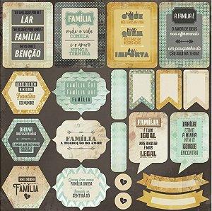 Adesivo 30x30 - Família - Arte Fácil