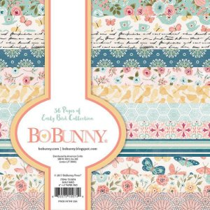 Bloco de papel scrapbook 15x15 Early Bird - Bo Bunny