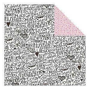 Papel scrapbook 30x30 Spark - Crush - Authentique
