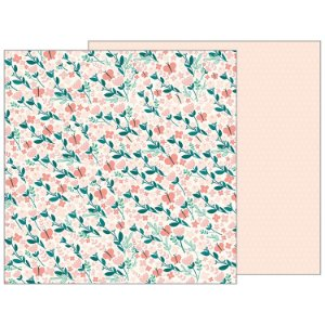 Papel scrapbook 30x30 Summer Breeze - Night Night - Pebbles