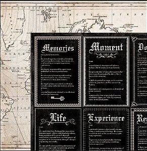 Papel scrapbook 30x30 Art of Life - Brave - Kaisercraft