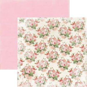 Papel Scrapbook 30x30 - Lovely - Fancy - Authentique
