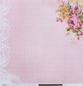 Papel Scrapbook 30x30 - Oh so lovely - Chic - Kaisercraft