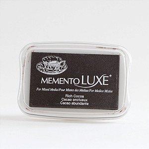 Carimbeira marrom Rich Cocoa - Memento Luxe