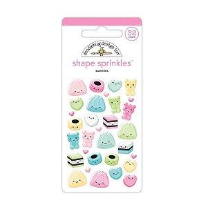 Adesivos enamel Sweeties - Doodlebug