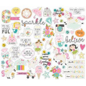 Die cuts Dream Big - Simple Stories