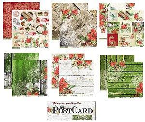 Kit lançamento My Postcard Natal - Carina Sartor