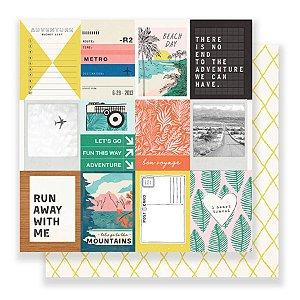 Papel Scrapbook - 30x30 - Photo Op - Crate Paper