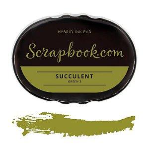 Carimbeira verde - Scrapbook.com - Succulent