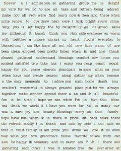 Adesivos - Diction sticker (15x20cm)  - Gathering- Amor - Authentique