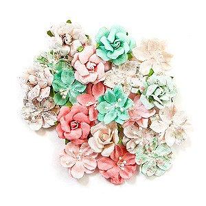 Flores- Havana Flowers - Mirana, coleção Havana com 20 peças - Prima Marketing