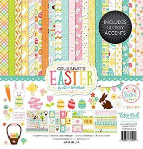 Kit coordenado - Celebrate Easter Collection Kit 30x30 - Echo Park