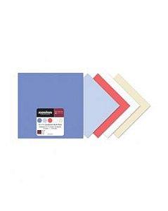 Bloco Papeis de Scrapbook - Cardstock - Bazzil - Wildberry  - Creative Imaginations