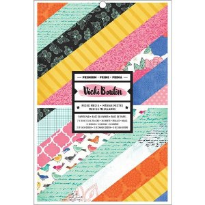 Bloco 17x25cm - Paper Pad - All The Good Things - Vicki Boutin - American Crafts