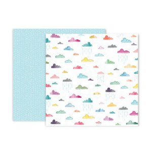 Papel scrapbook 30x30 Whimsical - #15 - Paige Taylor Evans - Pink Paislee